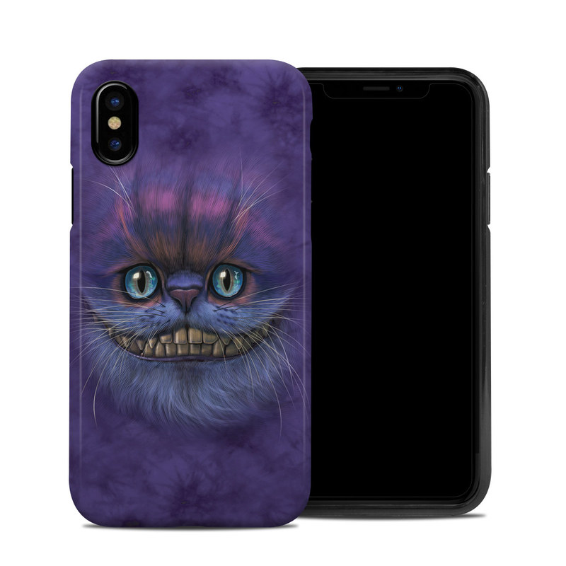 Cheshire Grin iPhone XS Hybrid Case