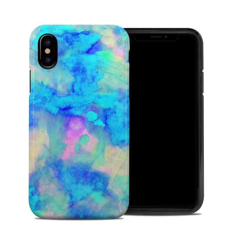 Electrify Ice Blue iPhone XS Hybrid Case