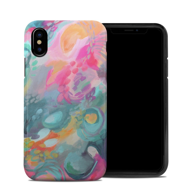 Fairy Pool iPhone XS Hybrid Case