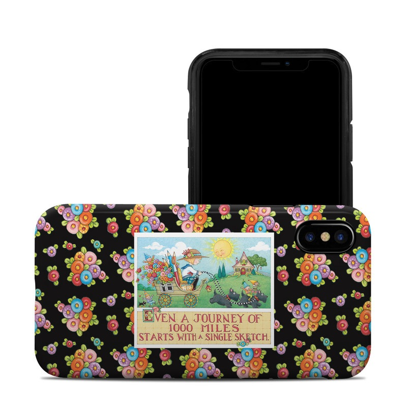Forty Year Journey iPhone X Hybrid Case