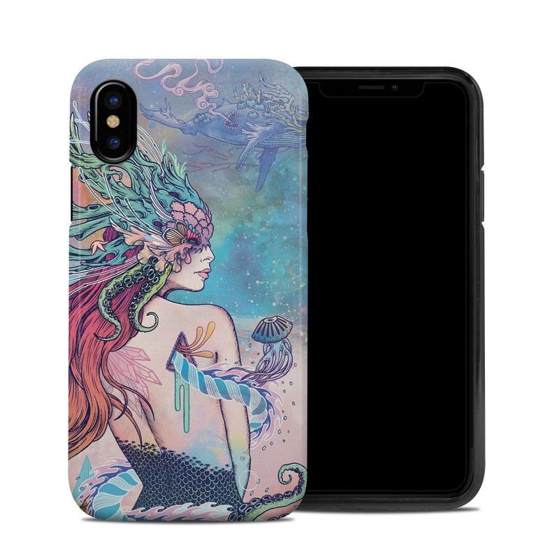 Last Mermaid iPhone XS Hybrid Case