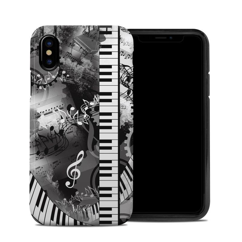 Piano Pizazz iPhone X Hybrid Case