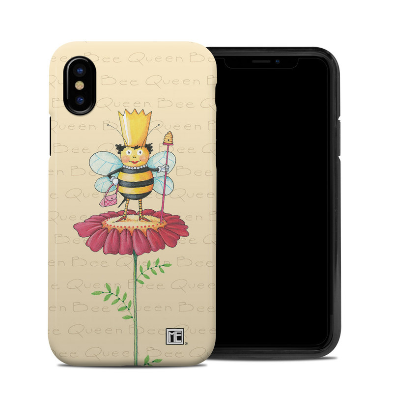 Queen Bee iPhone X Hybrid Case