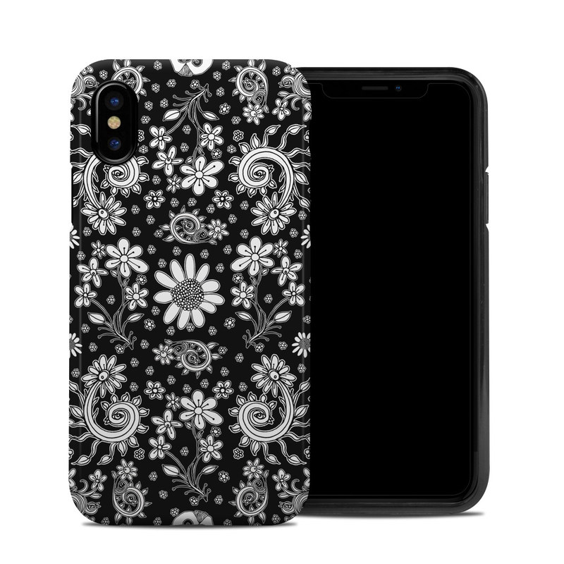Shaded Daisy iPhone X Hybrid Case