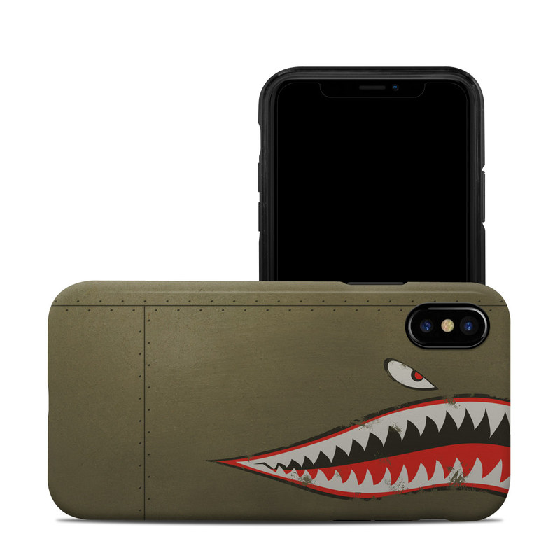 USAF Shark iPhone XS Hybrid Case