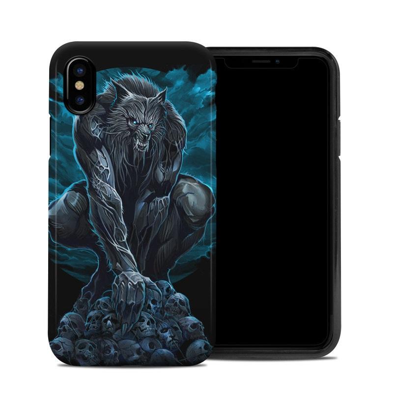 Werewolf iPhone XS Hybrid Case