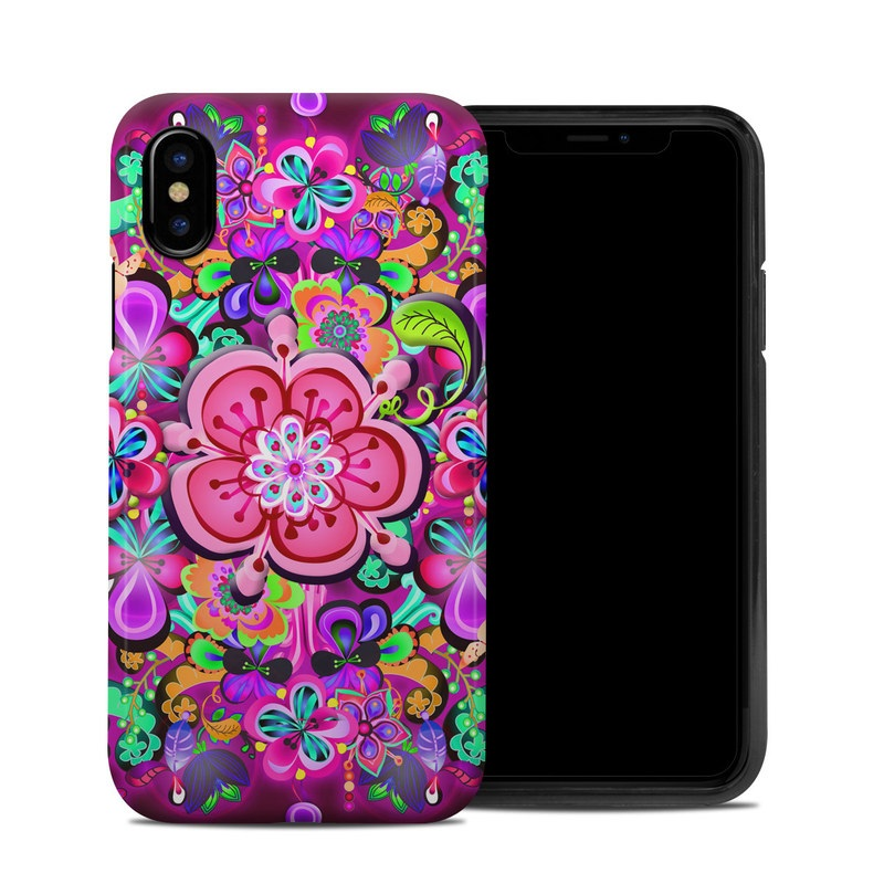 Woodstock iPhone XS Hybrid Case