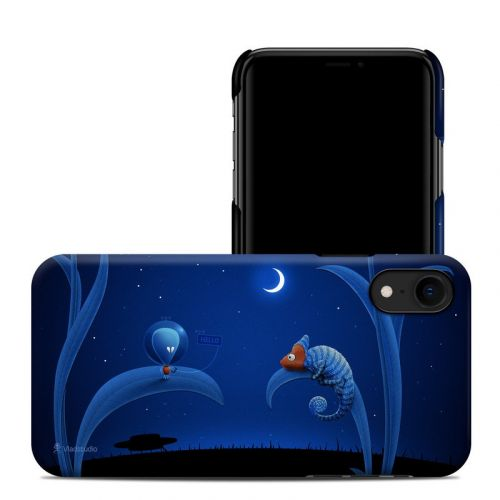 Alien and Chameleon iPhone XR Clip Case