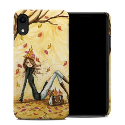 Autumn Leaves iPhone XR Clip Case