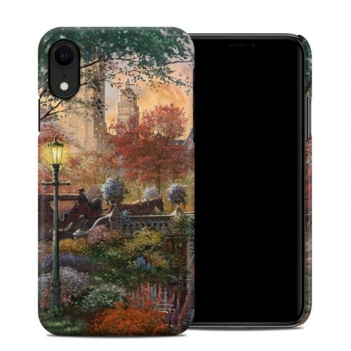 Autumn in New York iPhone XR Clip Case