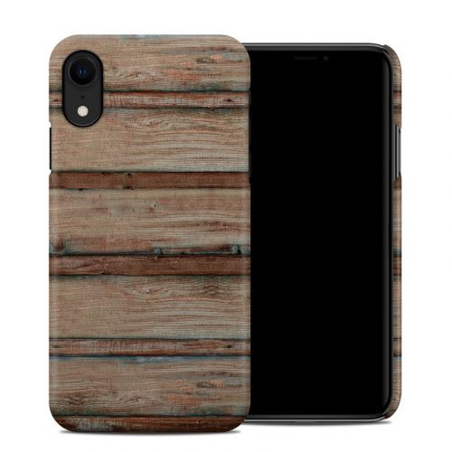 Boardwalk Wood iPhone XR Clip Case