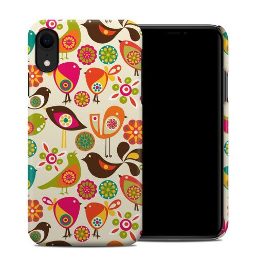 Bird Flowers iPhone XR Clip Case