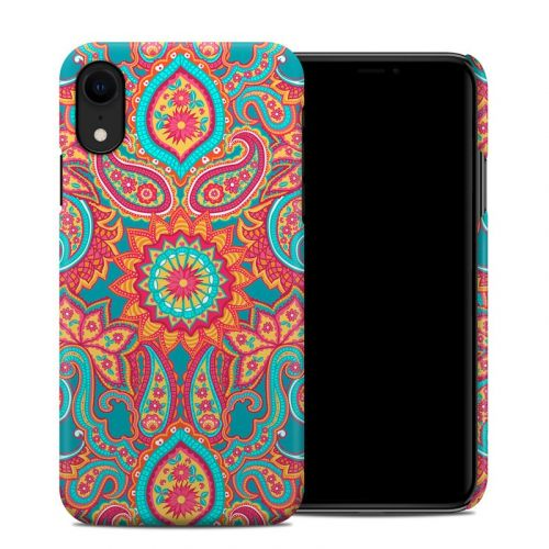 Carnival Paisley iPhone XR Clip Case