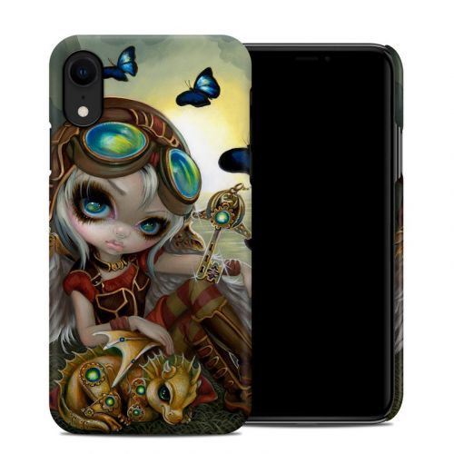 Clockwork Dragonling iPhone XR Clip Case