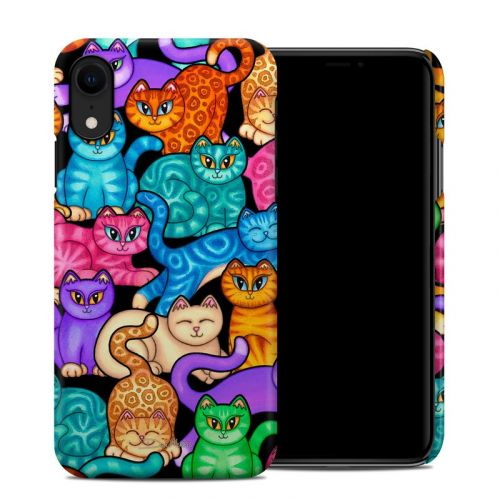 Colorful Kittens iPhone XR Clip Case