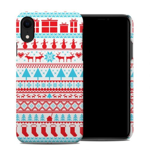 Comfy Christmas iPhone XR Clip Case