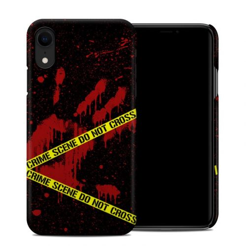 Crime Scene iPhone XR Clip Case