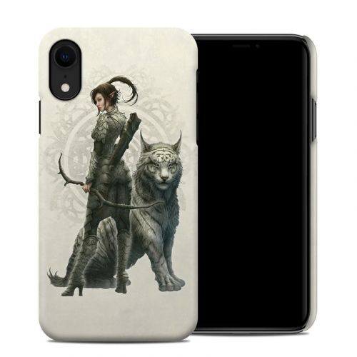 Half Elf Girl iPhone XR Clip Case
