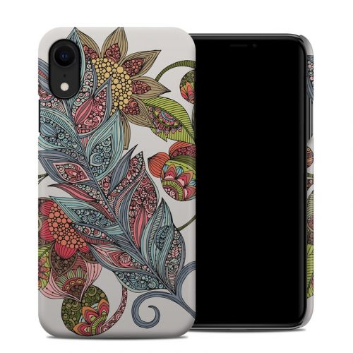 Feather Flower iPhone XR Clip Case