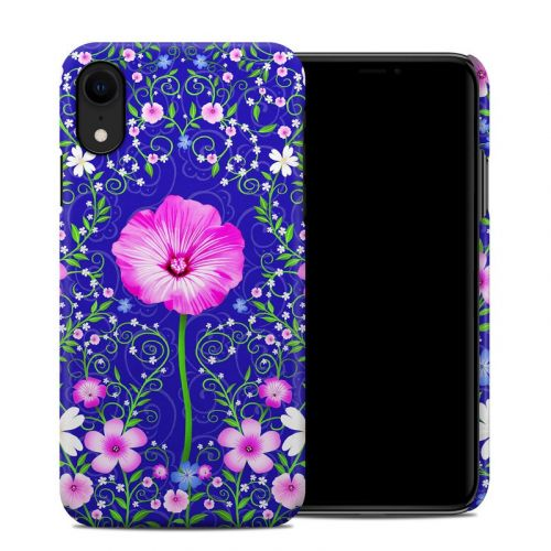 Floral Harmony iPhone XR Clip Case