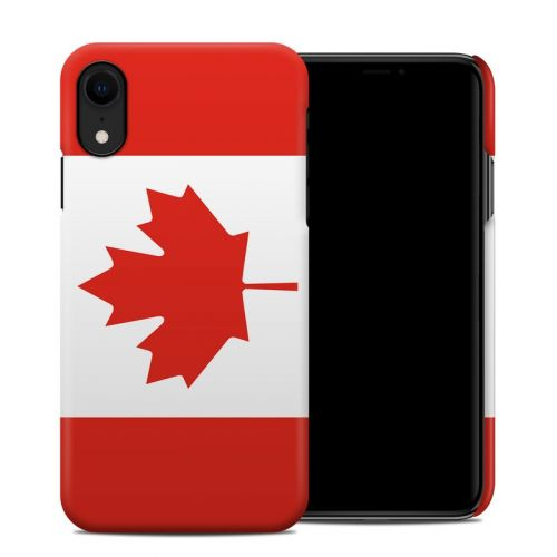 Canadian Flag iPhone XR Clip Case