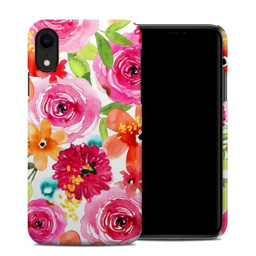 Floral Pop iPhone XR Clip Case