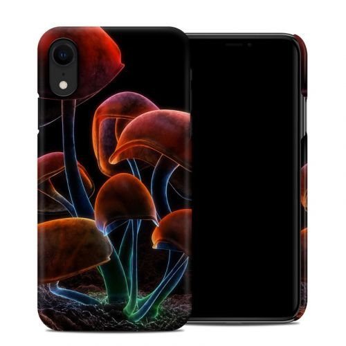 Fluorescence Rainbow iPhone XR Clip Case