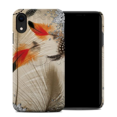 Feather Dance iPhone XR Clip Case