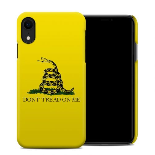 Gadsden Flag iPhone XR Clip Case