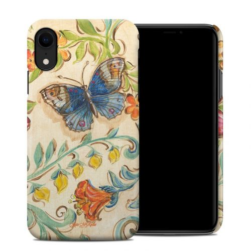 Garden Scroll iPhone XR Clip Case
