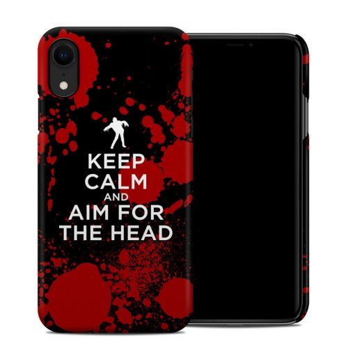 Zombie iPhone XR Clip Case