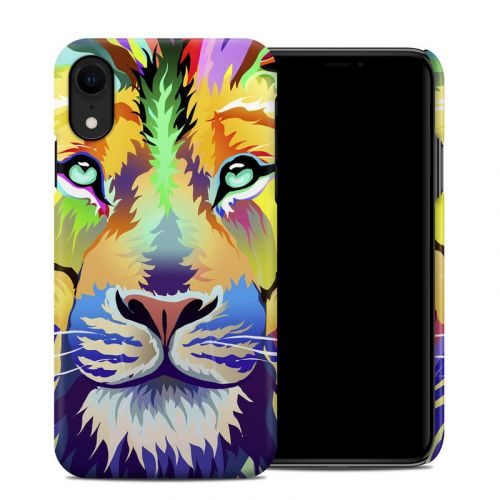 King of Technicolor iPhone XR Clip Case