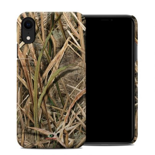 Shadow Grass Blades iPhone XR Clip Case