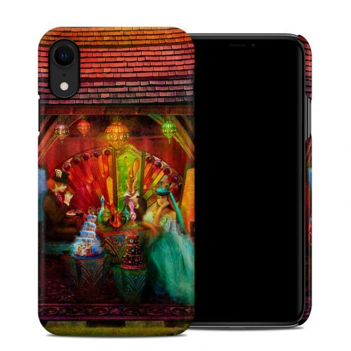 A Mad Tea Party iPhone XR Clip Case