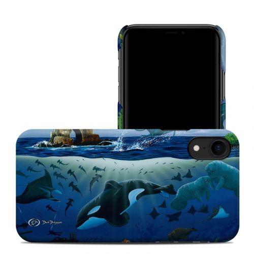 Oceans For Youth iPhone XR Clip Case