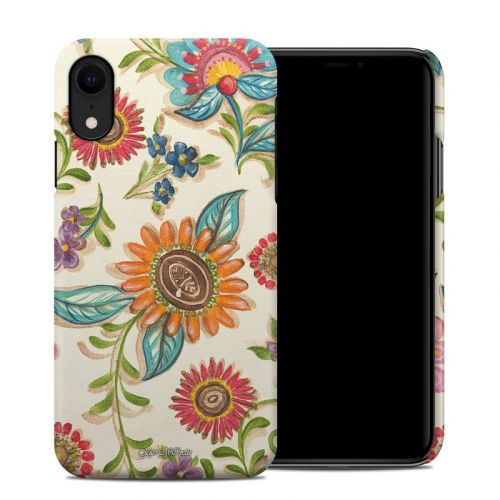 Olivia's Garden iPhone XR Clip Case