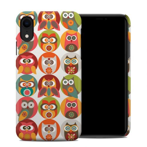 Owls Family iPhone XR Clip Case