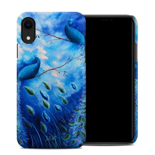 Paradise Peacocks iPhone XR Clip Case