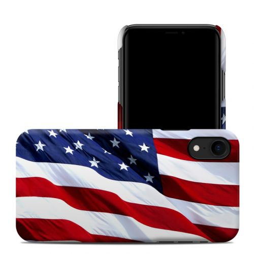 Patriotic iPhone XR Clip Case