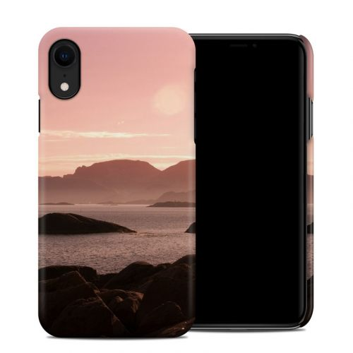 Pink Sea iPhone XR Clip Case
