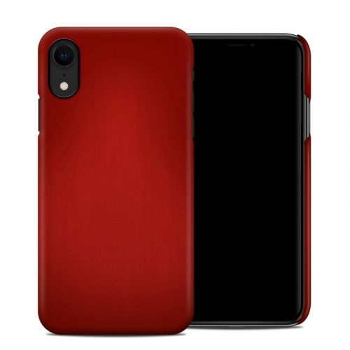Red Burst iPhone XR Clip Case