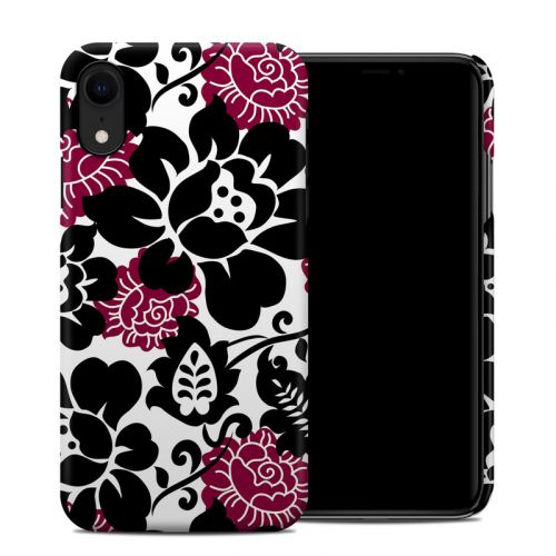 Rose Noir iPhone XR Clip Case