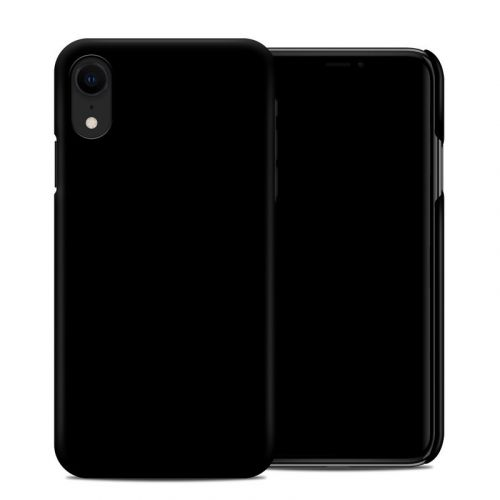 Solid State Black iPhone XR Clip Case