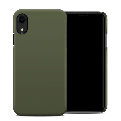 Solid State Olive Drab iPhone XR Clip Case