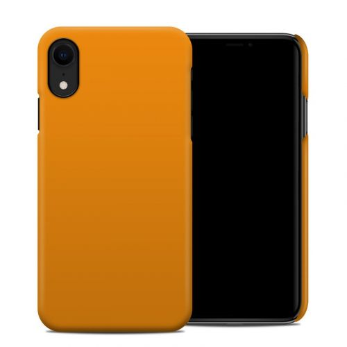 Solid State Orange iPhone XR Clip Case
