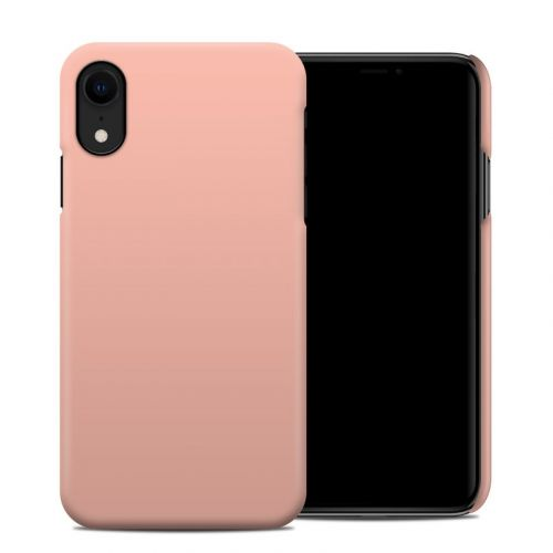 Solid State Peach iPhone XR Clip Case