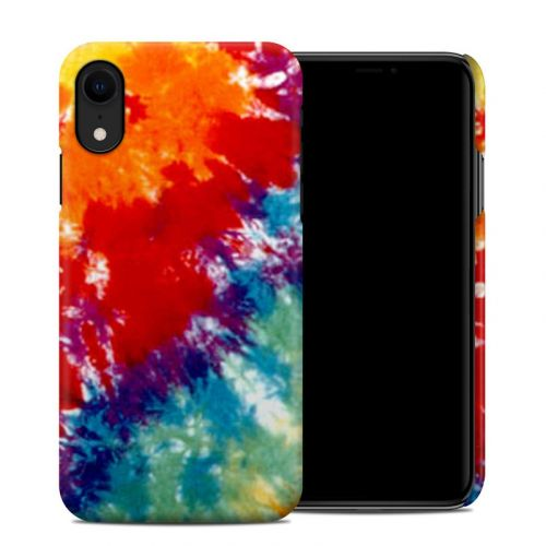 Tie Dyed iPhone XR Clip Case