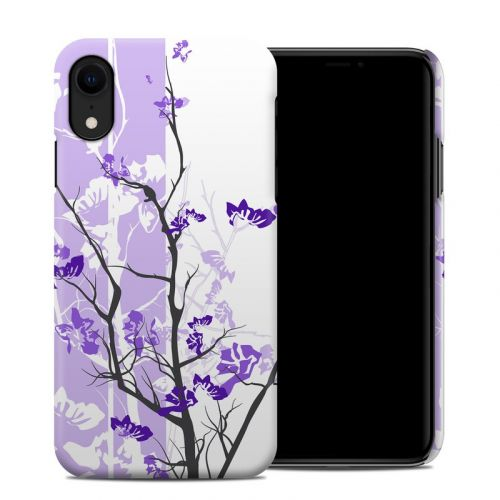 Violet Tranquility iPhone XR Clip Case