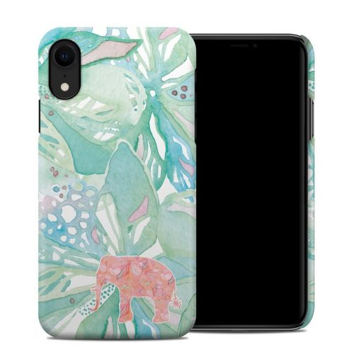 Tropical Elephant iPhone XR Clip Case