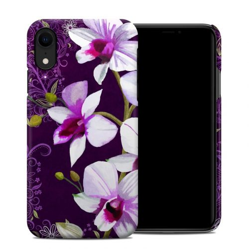 Violet Worlds iPhone XR Clip Case